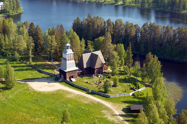 Finnish World Heritage Sites: Petäjävesi Old Church