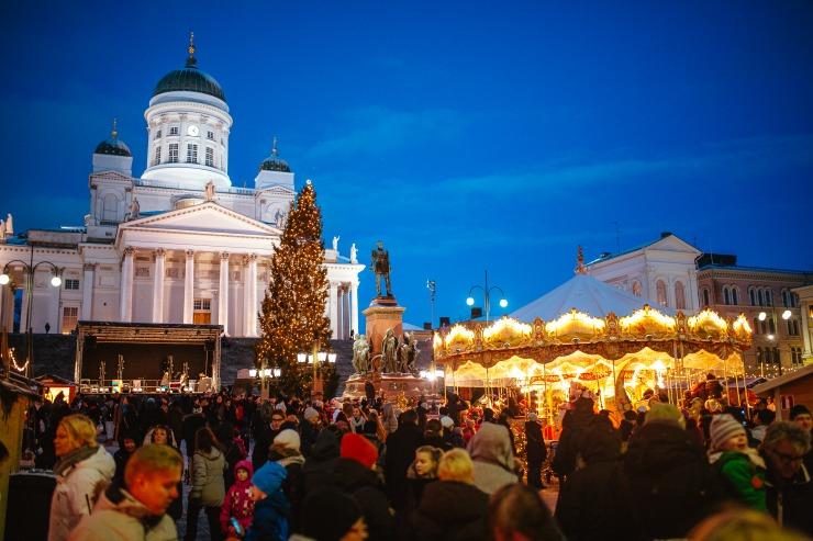 Finnish Christmas Markets – St. Thomas Christmas Market in Helsinki
