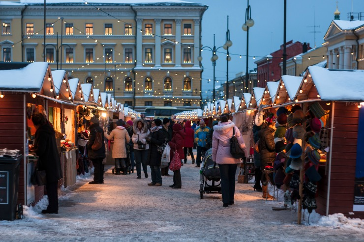 Finnish Christmas Markets – St. Thomas Christmas Market in Helsinki