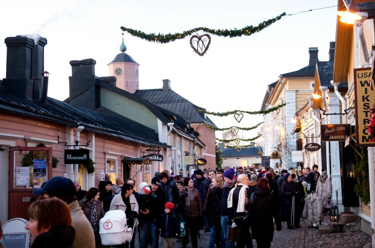 Finnish Christmas Markets – Christmas Market in Porvoo