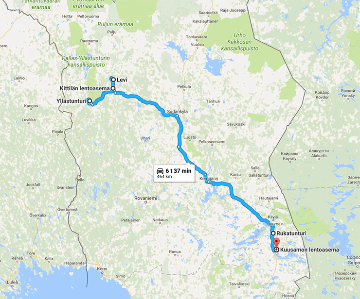 Want to See More Ideas for a Winter Road Trip in Finnish Lapland
